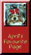 April's Favorite Page Award